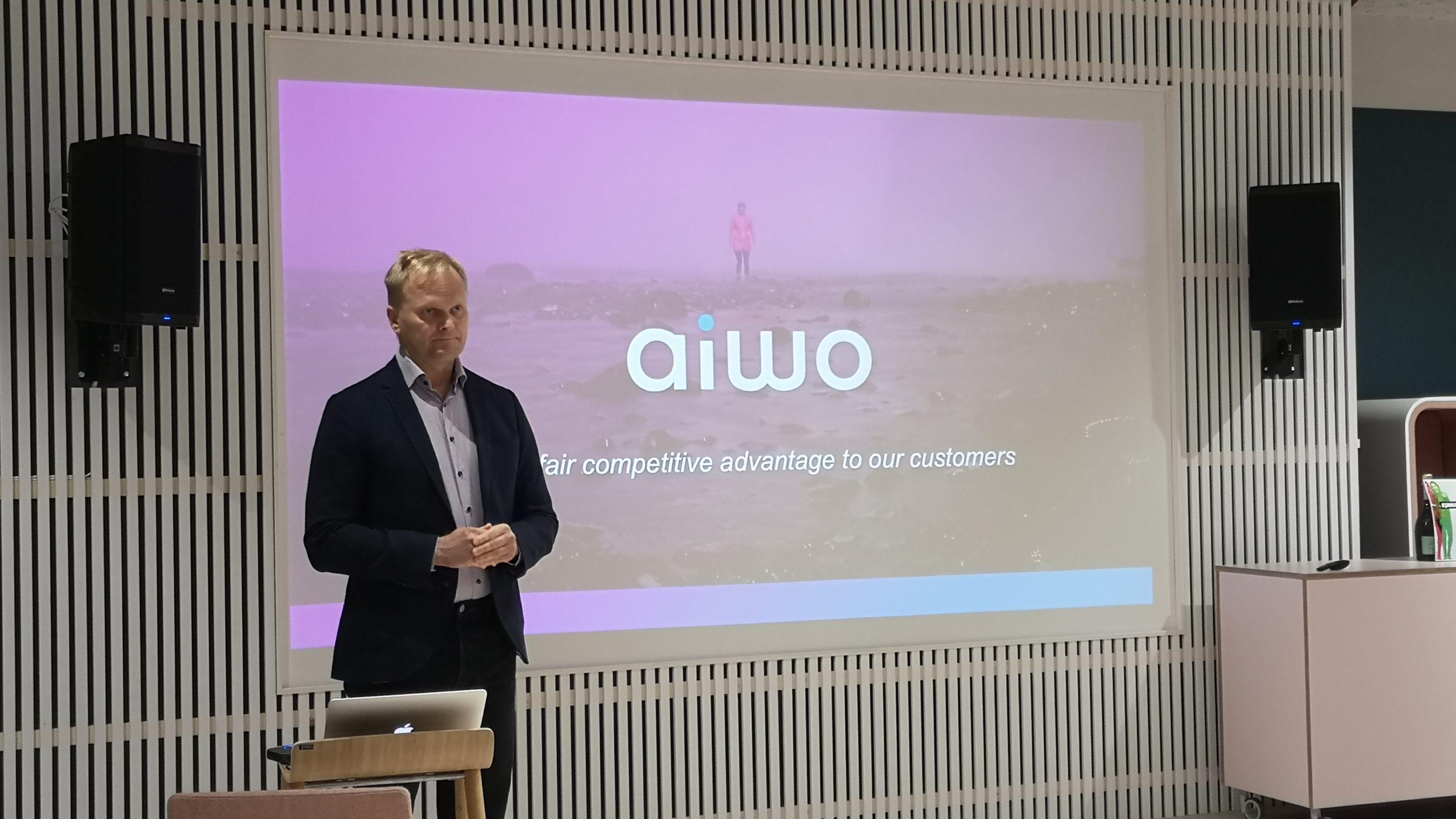 Aiwo has won a pitching competition to drive its international growth