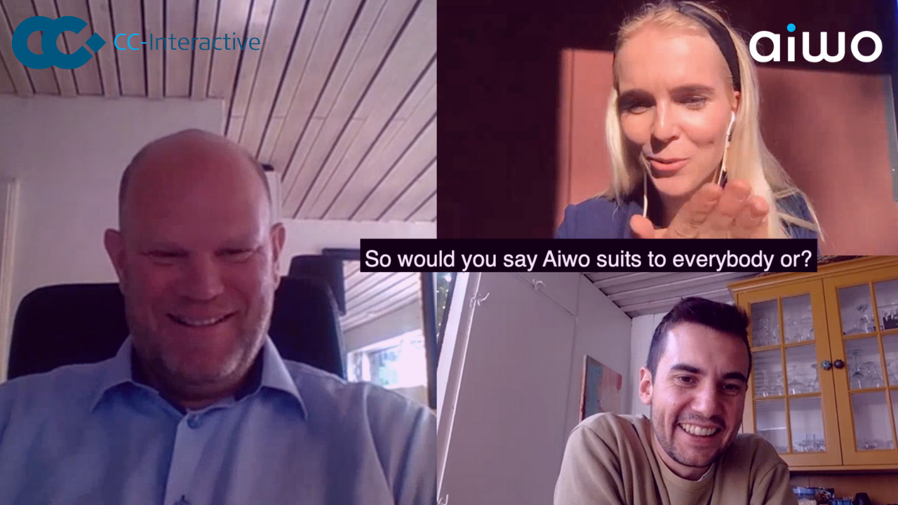 AIWO Studio: Aiwo cooperates with the Customer Engagement Optimization Company from Denmark